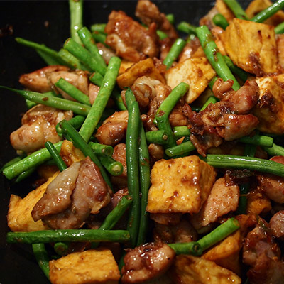 curry with green beans